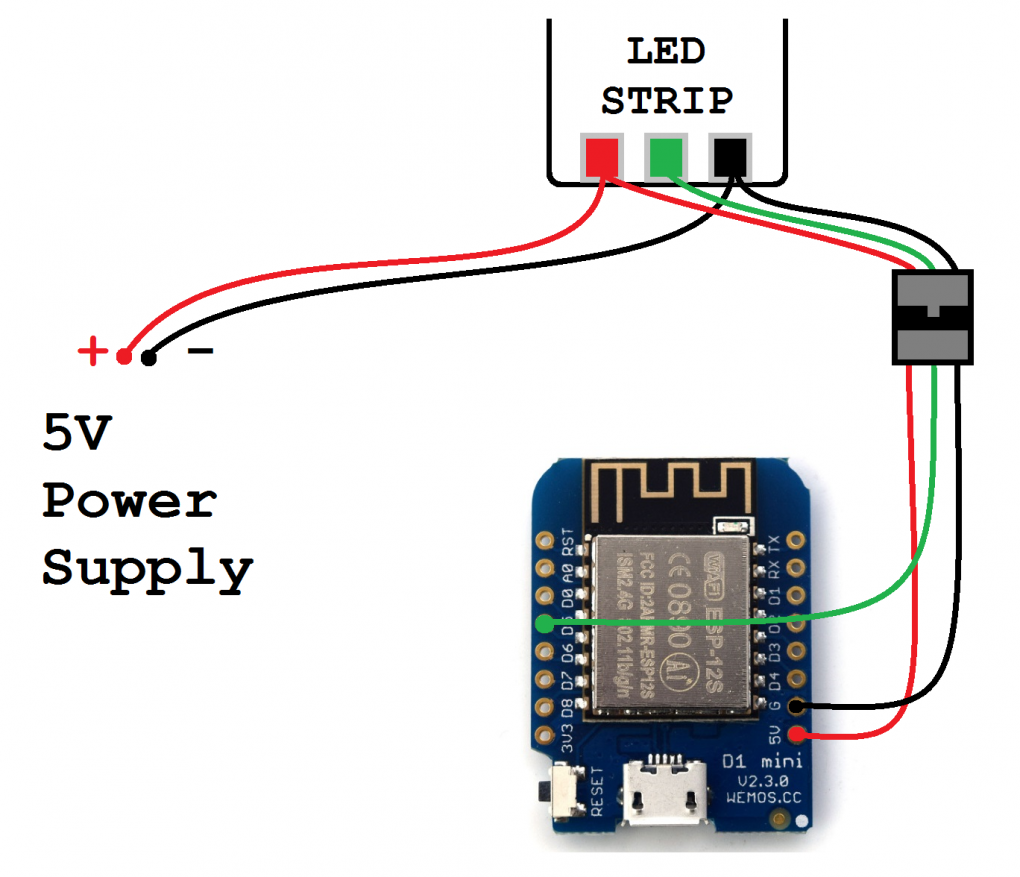 Lights to ESP8266
